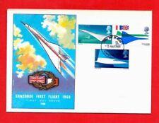Timbres premiers jours enveloppes aviation, espace