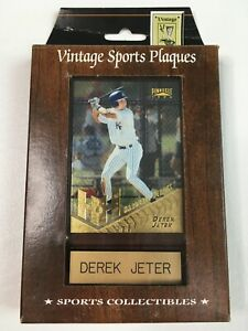 Vintage Sports Plaques Derek Jeter 1996 Pinnacle Hardball Heroes #279 NIP NEW