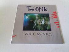 """TWO OF US """"TWICE AS NICE"""" LP VINYL 12"""" MBE/VG MBE/VG"""