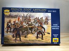 FRENCH FOOT ARTILLERY  1810-1815 1/72 Scale  ZVEZDA