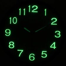 Luminous Wall Clock Mechanism Diy Silent Movement Glow In the Dark Repair Hands