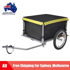 Folding Bike Cargo Trailer 65 KG Bicycle Luggage Shopping Storage Transport U6W0
