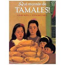 Que Monton de Tamales (Too Many Tamales)-ExLibrary