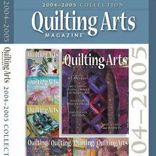 8 Issues on CD: QUILTING ARTS MAGAZINE 2004 - 2005 Embellish Fuse Wax Batik Sew