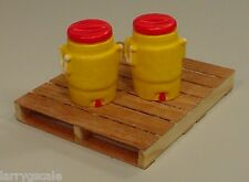 Igloo Cooler Miniatures (2) 1/24 Scale G Scale Diorama Accessory Items