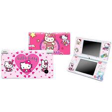 Heart KITTY love Vinyl Decal sticker skin cover case fit Nintendo DSI NDSI 557