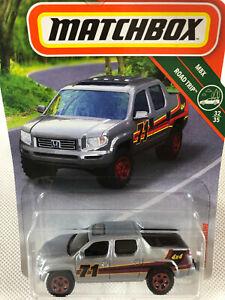 Matchbox Honda Ridgeline Silver 4x4 Utility/Ute/Truck MBX Road Trip - Free Post