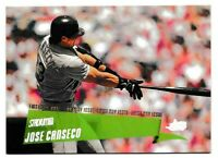 Jose Canseco 2000 Stadium Club First Day Issue #/150 Tampa Bay Rays Ebay 1/1