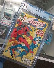 X-Force #11 Marvel Comics CGC 9.6 6/92 1st app real Domino
