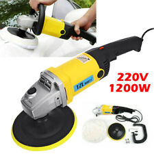 1200w 6-speed High Power Electric Polisher Buffer Waxer for Auto Car Truck Home