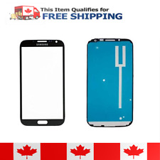 Samsung Galaxy Note 2 Grey Front Glass Lens And Adhesive Sticker
