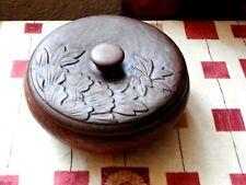Japanese lacquer melamine lidded dish