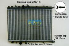 Wasserkühler Kühler PEUGEOT 206 CC (2D) 1.6 16V 2.0 S16