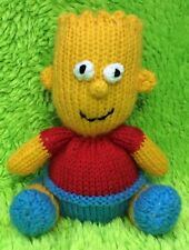 KNITTING PATTERN - Bart Simpson inspired chocolate orange cover / 15 cms toy