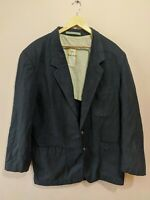 CAMEL COLLECTION HERREN BLAZER SAKKO JACKE BLAU GR. 106 / 2XL / XXL