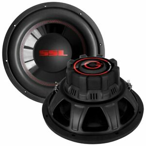 "Soundstorm CG12D Charge 12"" 1000 Watt 4 Ohm Dvc"