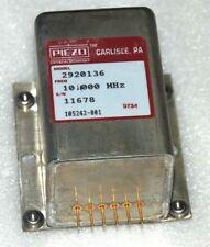 PIEZO 10MHZ High Precision OCXO frequency standard , SC-CUT square wave , +24V