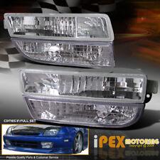 For Honda Prelude 97-01 JDM Fog Lights Kit Lamp+Bumper Signal Lamp