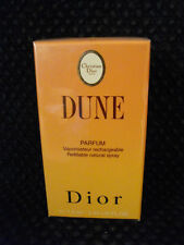 Dune by Christian Dior 7.5ml Parfum Spray New Sealed Super Rare !!!!!!!!!!!!!!!!