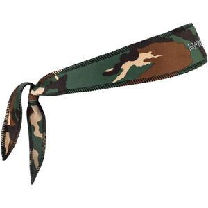 Halo Headband Sweatband Tie Version - Camo Green