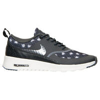 New Nike Women's Air Max Thea Print Shoes (599408-008) Black/Dark Grey/Anthracit