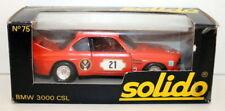 SOLIDO 1/43 - N.75 BMW 3000 CSL - ORANGE