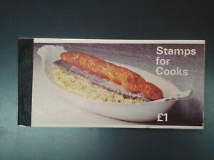 G.B. - 1969 COOK BOOK - STAPLED. COMPLETE BOOKLET SG.ZP1. (CVR.A1)