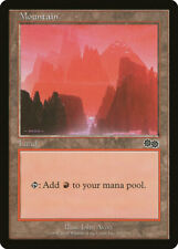 Magic MTG Tradingcard Urza's Saga 1998 Mountain 343/350