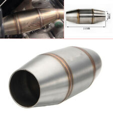 38mm S.S Motorcycle Scooter ATV Expansion Chamber Tuned Exhaust Pipe Muffler Kit