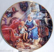 Weimar 4. Bradex Sammelteller ~ Besuch bei den Großeltern (Die Strickliesel)