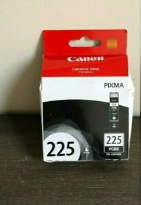 Genuine Canon Pixma 225 PGBK PGI-225PGBK Black Ink Cartridge OEM Original NEW