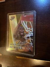Shaquille O'Neal 1997 Bowmans Best Shots ATOMIC REFRACTOR BS3 NM/NM+ PSA RDY