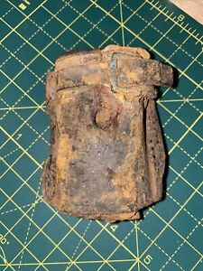 Ww1 Relic Leather Scabbard Remains Found Somme