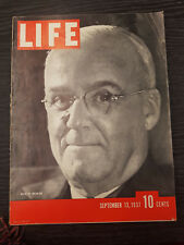 LIFE Magazine: Weir of Weirton- September 13, 1937