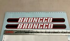 Broncco Long  mini bike minibike decals stickers
