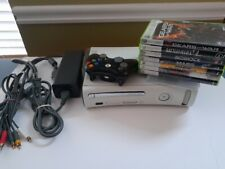 Microsoft Xbox 360 Console Bundle with 10 Games & Controller
