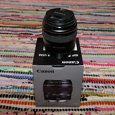 Canon ef 85mm f/1.8 usm lens. Good condition.