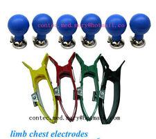 limb chest electrodes for CONTEC brand ECG/EKG Electrocardiograph,NEW