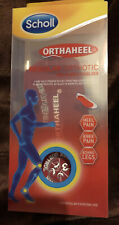 Scholl Orthaheel Orthotic Inserts Size M