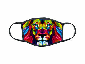 Masque de protection personnalisé Animal lion mask Réf 1302