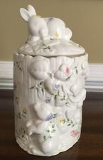 Johnson Brothers Summer Chinz Large Rabbit Cookie Jar. Excellent Condition.