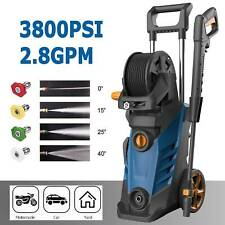 3800Psi High Power Water Electric Pressure Washer 1800W 2.8Gpm Cleaner Machine