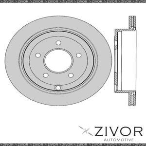 PROTEX Rotor - Rear For MAZDA BONGO FRIENDEE . 3D Van 4WD 1995 - 2004 By ZIVOR
