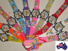 1pcs NEW x Tinkerbell Kids 3D Girls Silicone Watch Gift Party Bags Christmas