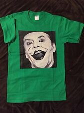 JOKER- Jack Nicholson, Tim Burton T-Shirt size MEDIUM (M) Mens Green- Herb Ritts
