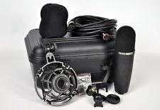Superlux CM-H8AH Gold-evaporated Diaphragm Condenser Microphone 25ft Cable