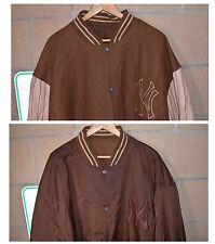 Vtg Jeff Hamilton Reversible New York Yankees Pinstripe Heavy Jacket Size 6XL