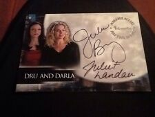 Angel Season 2 Dual Autograph Card Da1 Juliet Landau Julie Benz Dru Darla
