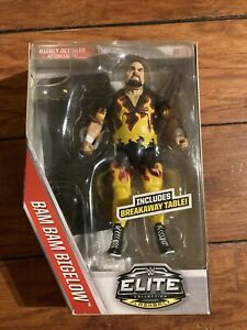 WWE Elite Flashback Bam Bam Bigelow 7 Inch Action Figure NEW Then Now Forever