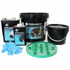 Silkolene Motorcycle Foam Filter Treatment Cleaner, Oil, Buckets, Gloves